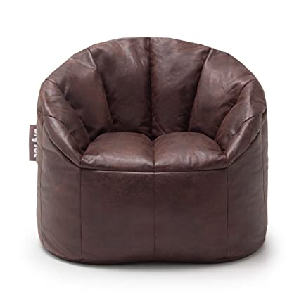 Big Joe Large Milano Faux Leather Chair  sc 1 st  Amazon.com & Amazon.com: Big Joe Large Milano Faux Leather Chair: Kitchen u0026 Dining