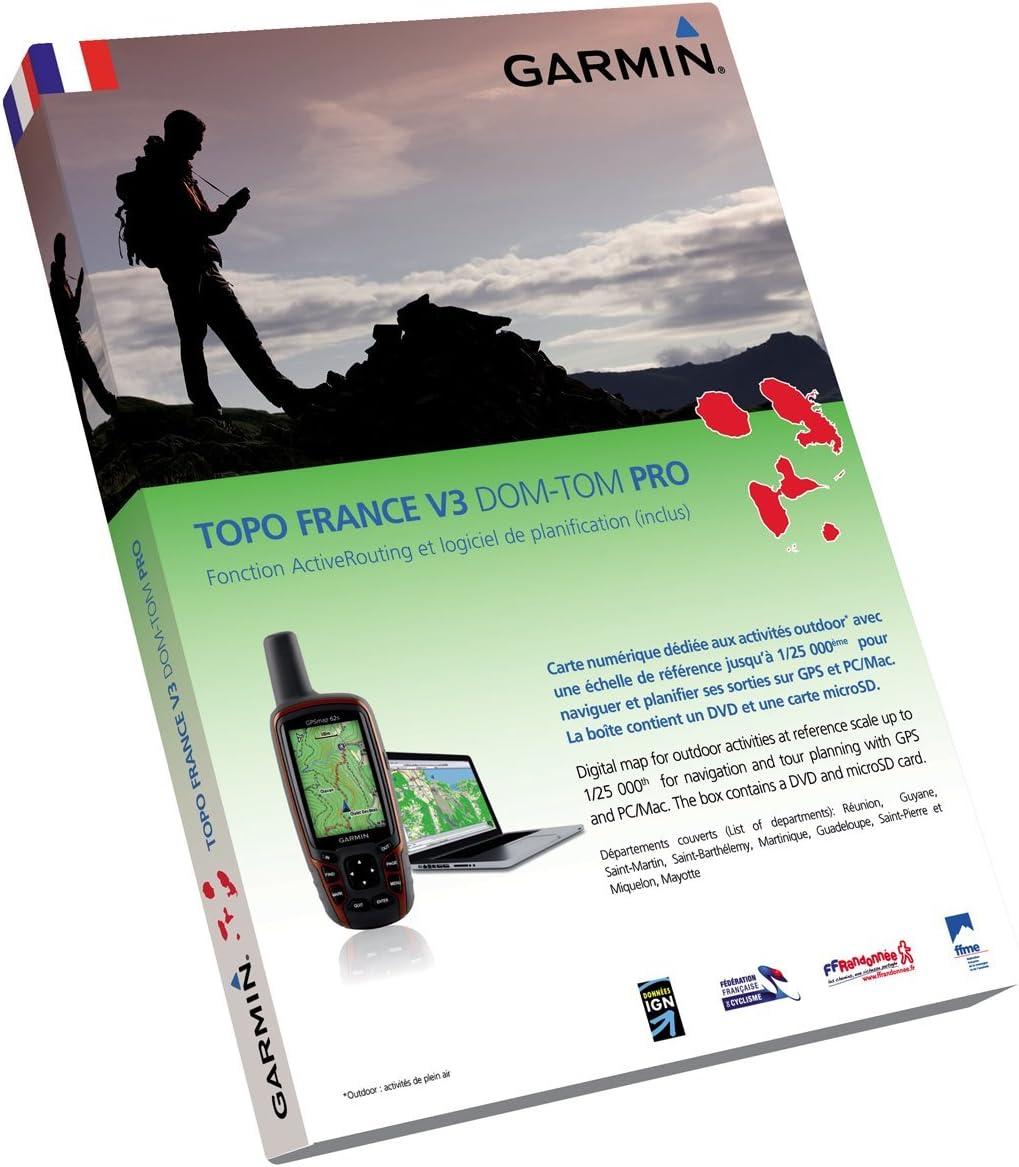 Garmin Topo France V3 Pro Dom-Tom: Amazon.es: Electrónica