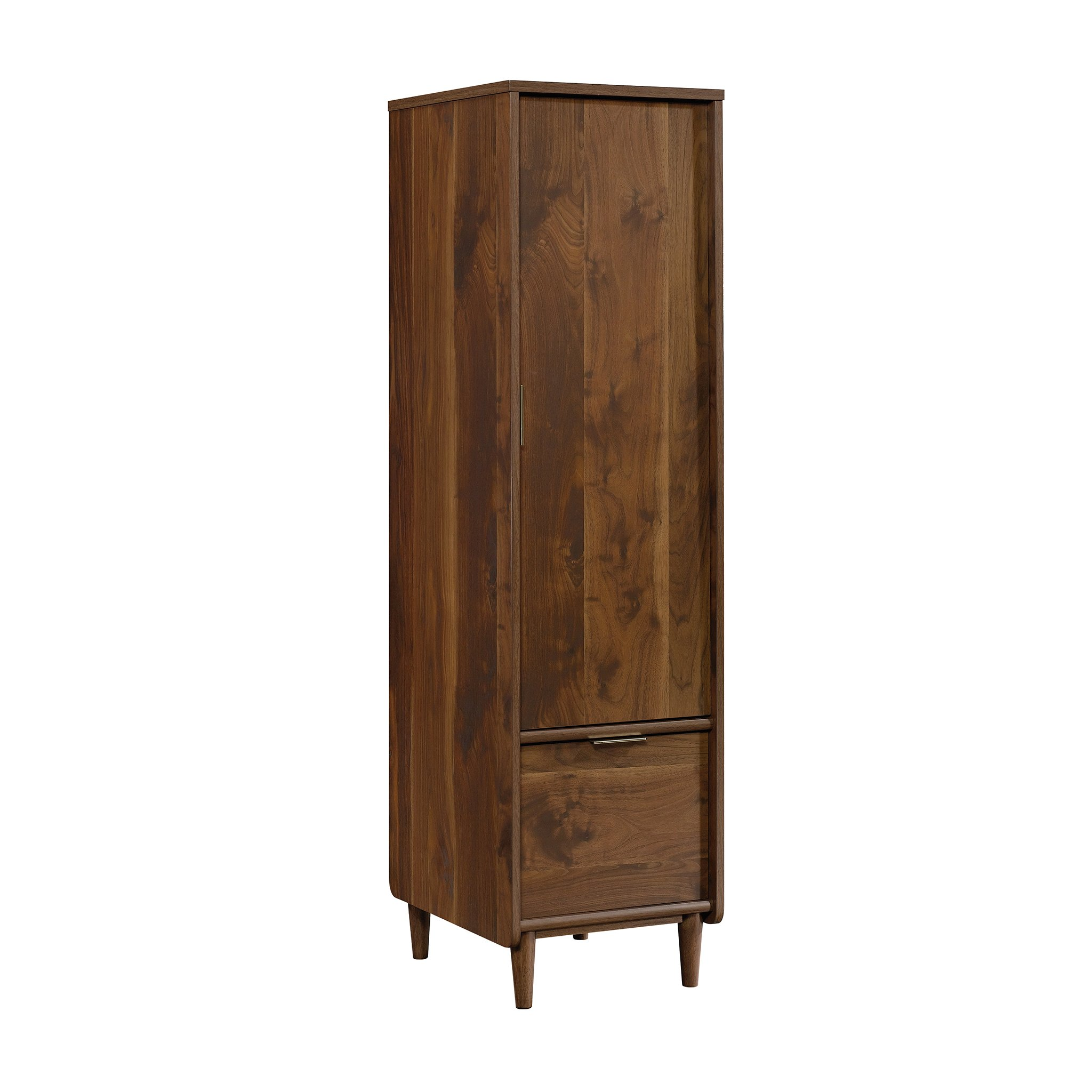 Sauder 421318 Clifford Place Storage Cabinet with File, L: 15.51'' x W: 18.50'' x H: 58.27'', Grand Walnut Finish by Sauder (Image #1)