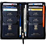 PAREEK Black Passport Wallet