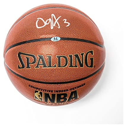 98c2a3a60 Image Unavailable. Image not available for. Color  OG Anunoby Autographed  Signature Spalding NBA ...