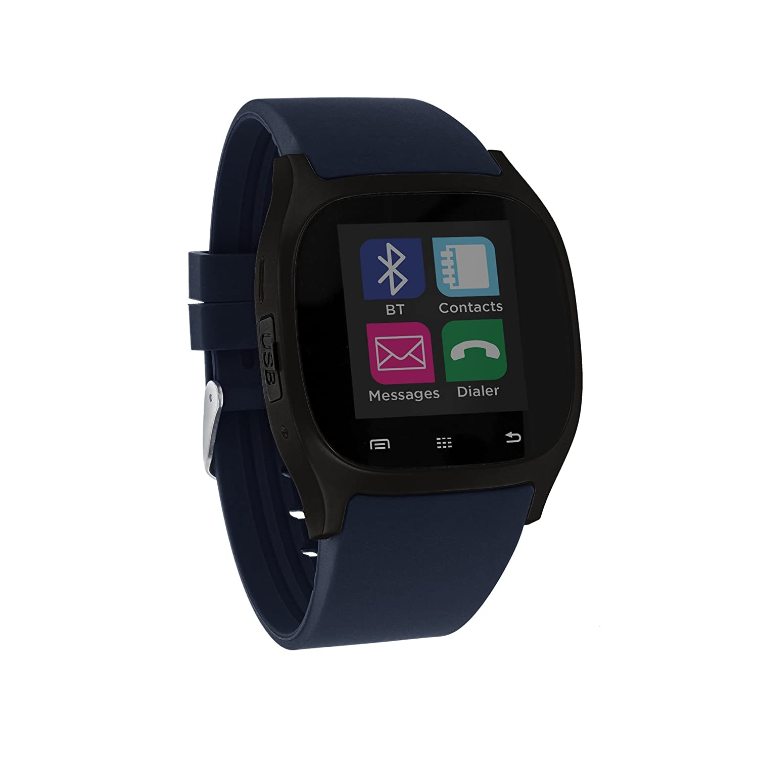 Smart Watch I-Touch Screen Bluetooth with Pedometer Analysis Sleep Monitoring for Samsung Galaxy Android Apple iPhone iOS LG Google Nexus Smartphone ...