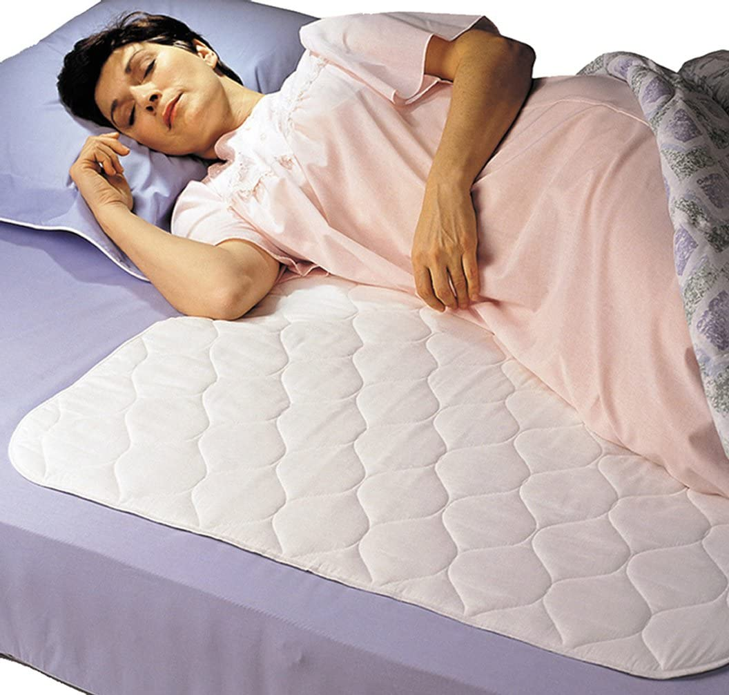 """Wet-Stop Waterproof Mattress Pad Twin//Toddler 300 Washes 34/""""x36/"""" White High..."""