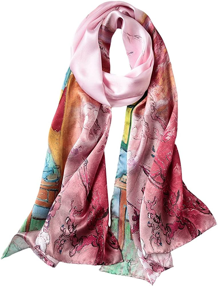 Women's Silk Scarf...
