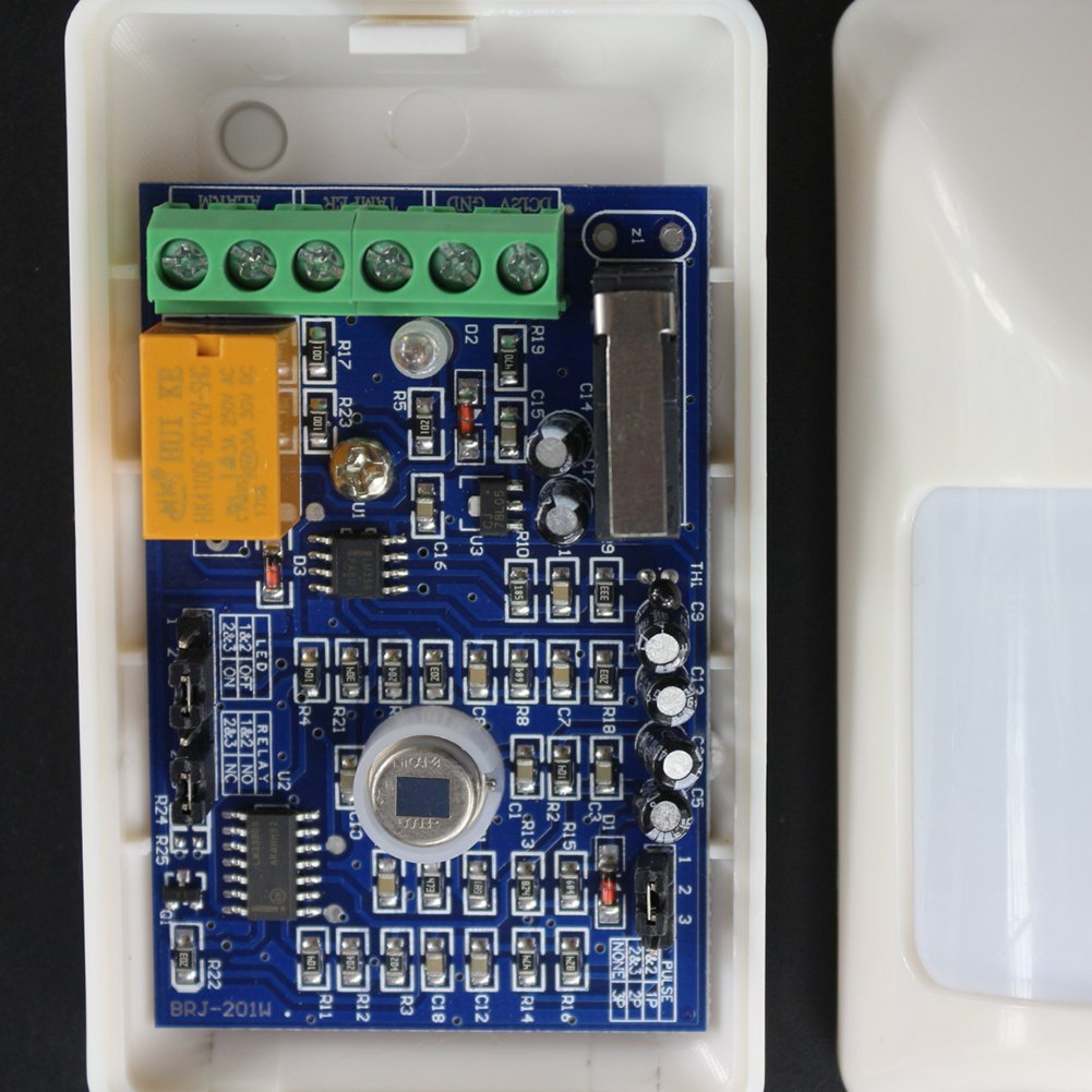 TOOGOO Sensor de cuerpo infrarrojo normalmente abierto/normalmente cerrado, Detectores infrarrojos con cable: Amazon.es: Bricolaje y herramientas