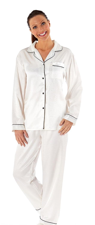 Women's Coco Revere Collar Pyjama Sleepwear Nightwear Set