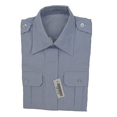 Us Air Force Womens Dress Blue Shirt Short Sleeve 13 X 36 At