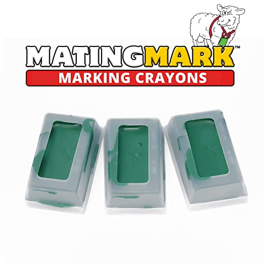 MATINGMARK Marcador de Bloques de crayón de ovejas y Cabras para ...