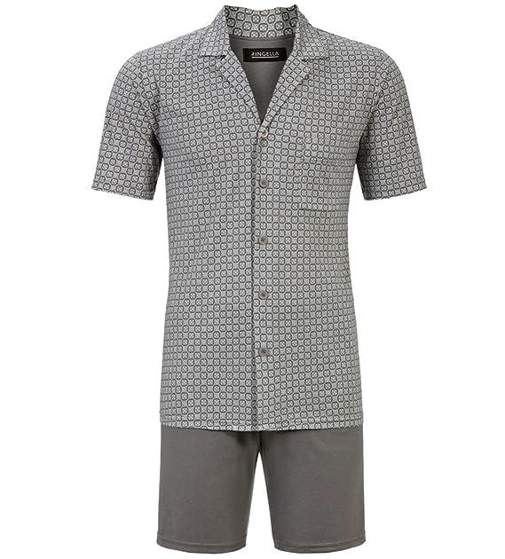 Pijama hombre Ringuella verano 7241331 camisa abotonada entera (50)