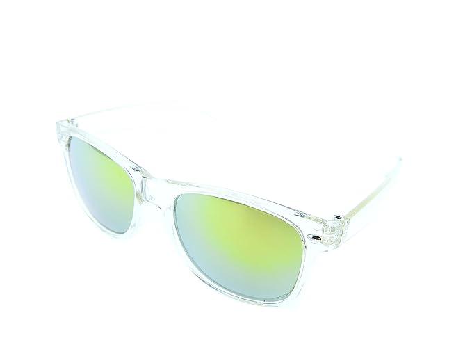 Inception Pro Infinite (Amarillo) Gafas de sol - Hombre - Mujer - Unisex - Polarizado - Espejo - Retro - Cuadrado: Amazon.es: Ropa y accesorios