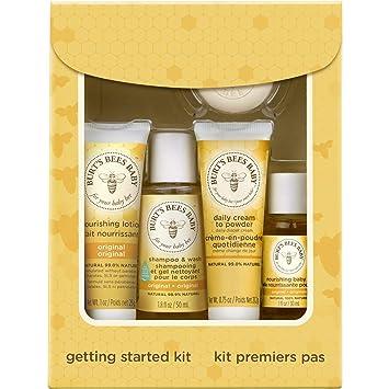 5dc78fcbb6ce Amazon.com  Burt s Bees Baby Getting Started Gift Set