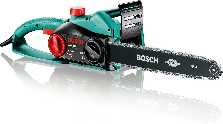 Bosch AKE 40 S Motosierra eléctrica, 1800 W, longitud de espada 40 cm: Amazon.es: Informática