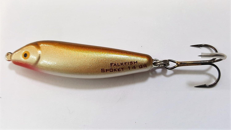 "WP RC 6cm FALKFISH /""Spöket/"" 14g 333 Gold´n Grey"