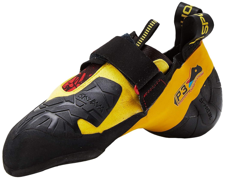 noir jaune 38 EU La Sportiva Solution Kletterschuh