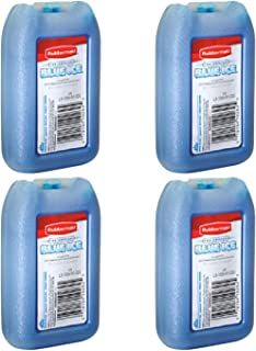 "product image for Rubbermaid - 1026-TL-220""BLUE ICE"" MINI PAK, Reusable, 8 OZ (4 Pack)"
