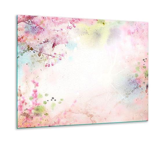 Placa de vitrocerámica, 1 Pieza, 60 x 52, diseño de Flores ...