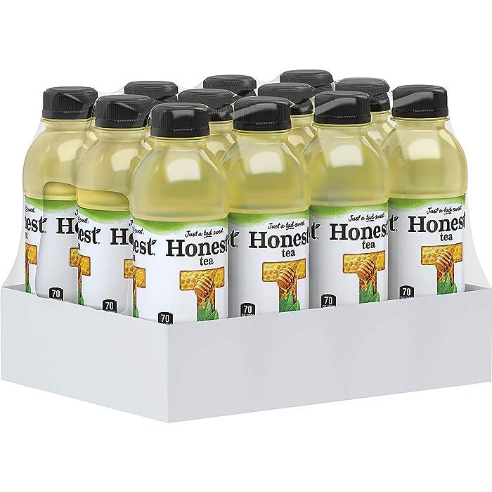 Honest Tea Organic Fair Trade Honey Green Gluten Free, 16.9 Fl. Oz, 12 Pack