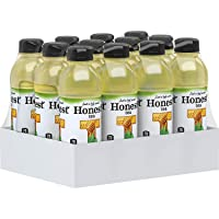 Honest Tea Organic Fair Trade Honey Green Gluten Free, 16.9 Fl. Oz, 12 Pack