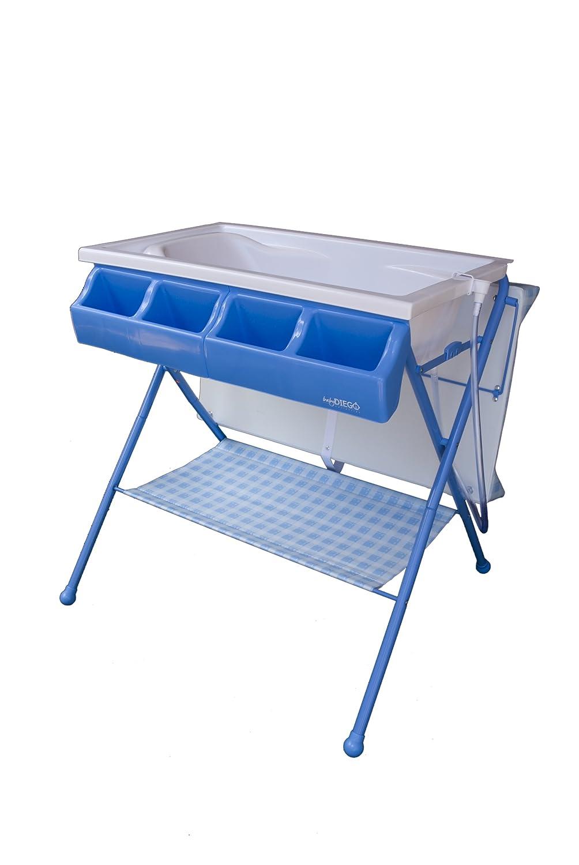 Amazon.com : Baby Diego Bathinette Standard, Blue : Baby Bathing ...