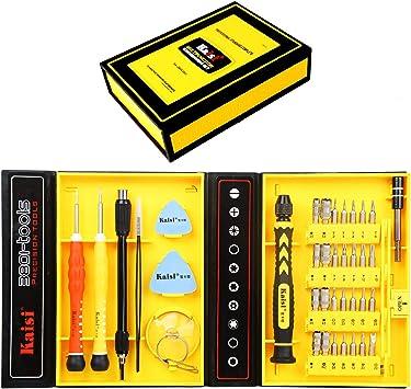 1 Set Non-slip Handle Screwdriver Bit Kit Tiny Parts Catch Tweezer Screwdriver