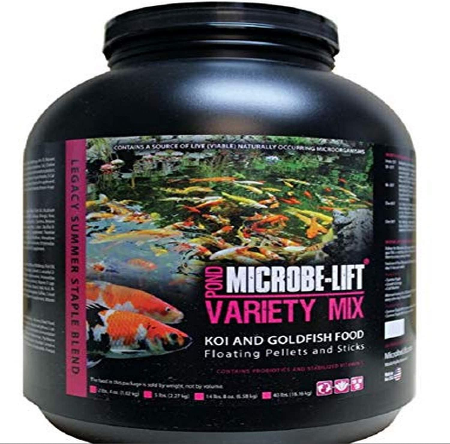 Ecological Labs Microbe-Lift Legacy Variety Mix Pond Treatment, 5 lb