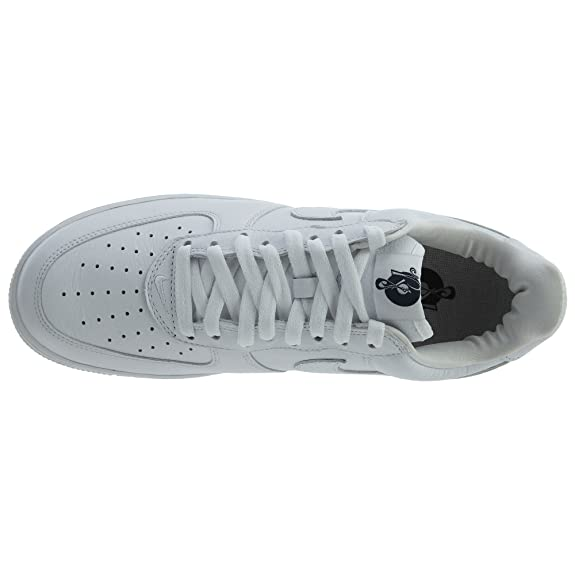 8d69f7740f Nike Air Force 1 07 Rocafella Mens Trainers AO1070 Sneakers Shoes (UK 9.5  US 10.5 EU 44.5, White White White 101): Amazon.in: Shoes & Handbags