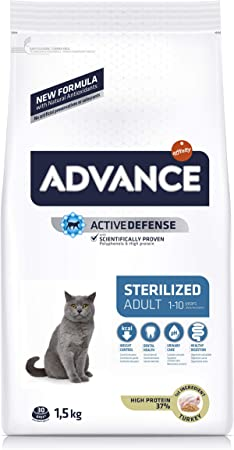 Advance Sterilized-Pienso para Gatos Adultos Esterilizados con ...