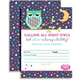 amazon com slumber party sleep over invitations fill in style 20