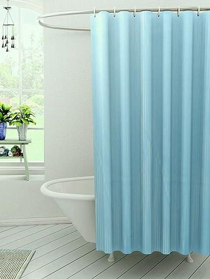 Kuber Industries PVC Self Shower Curtain