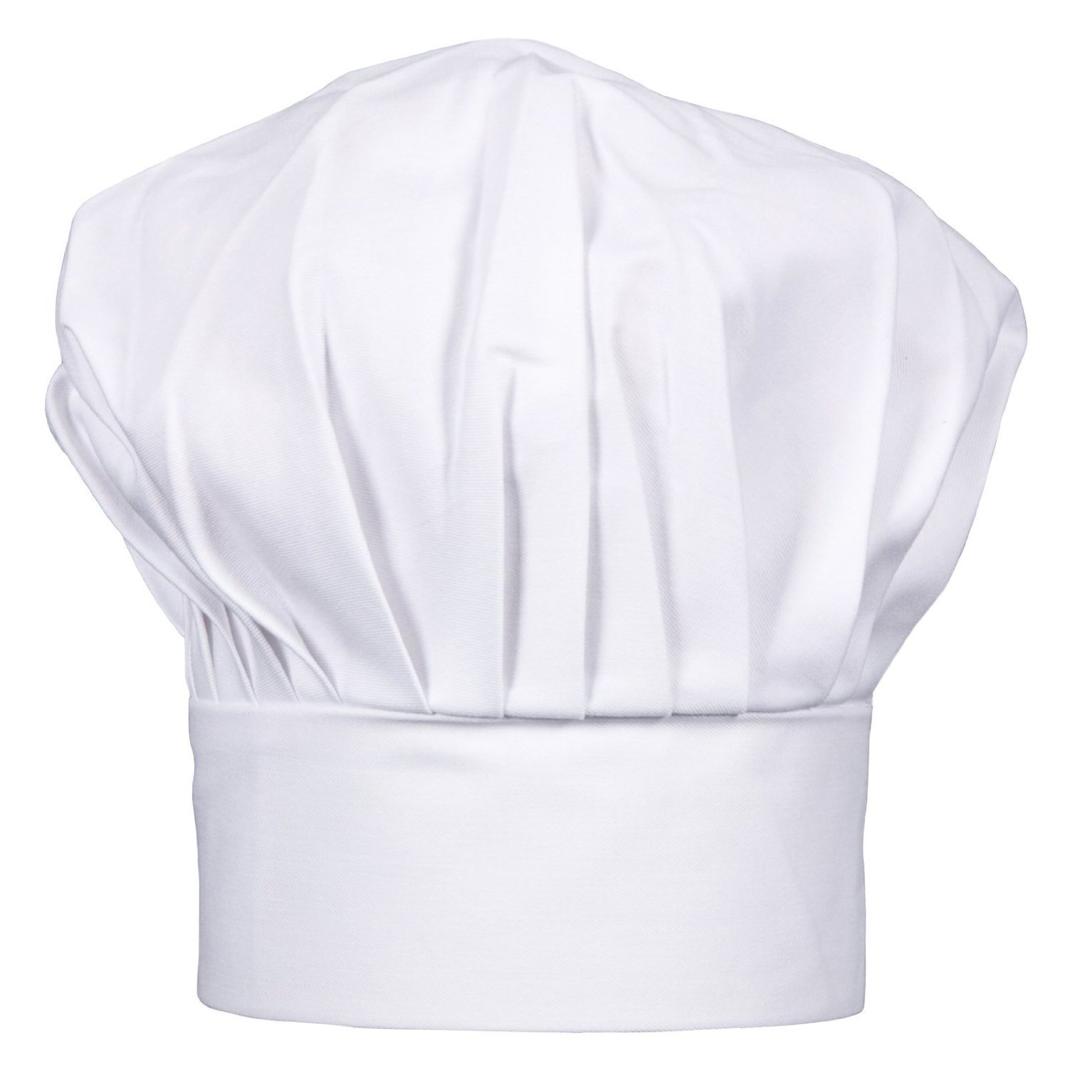 CHEFSKIN Kids Chef Hat WHITE LOT LOTS WHOLESALE (JUST LIKE THE ORIGINAL CHEFS WEAR) Velcro Adjustable (100)
