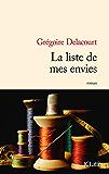 La liste de mes envies (Littérature française)