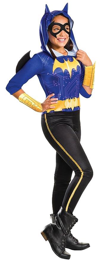 Rubies Costume Kids DC Superhero Girls Batgirl Costume, Small