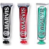Marvis 牙膏组合套装 75ml*3(进口)(套装颜色,随机发送)