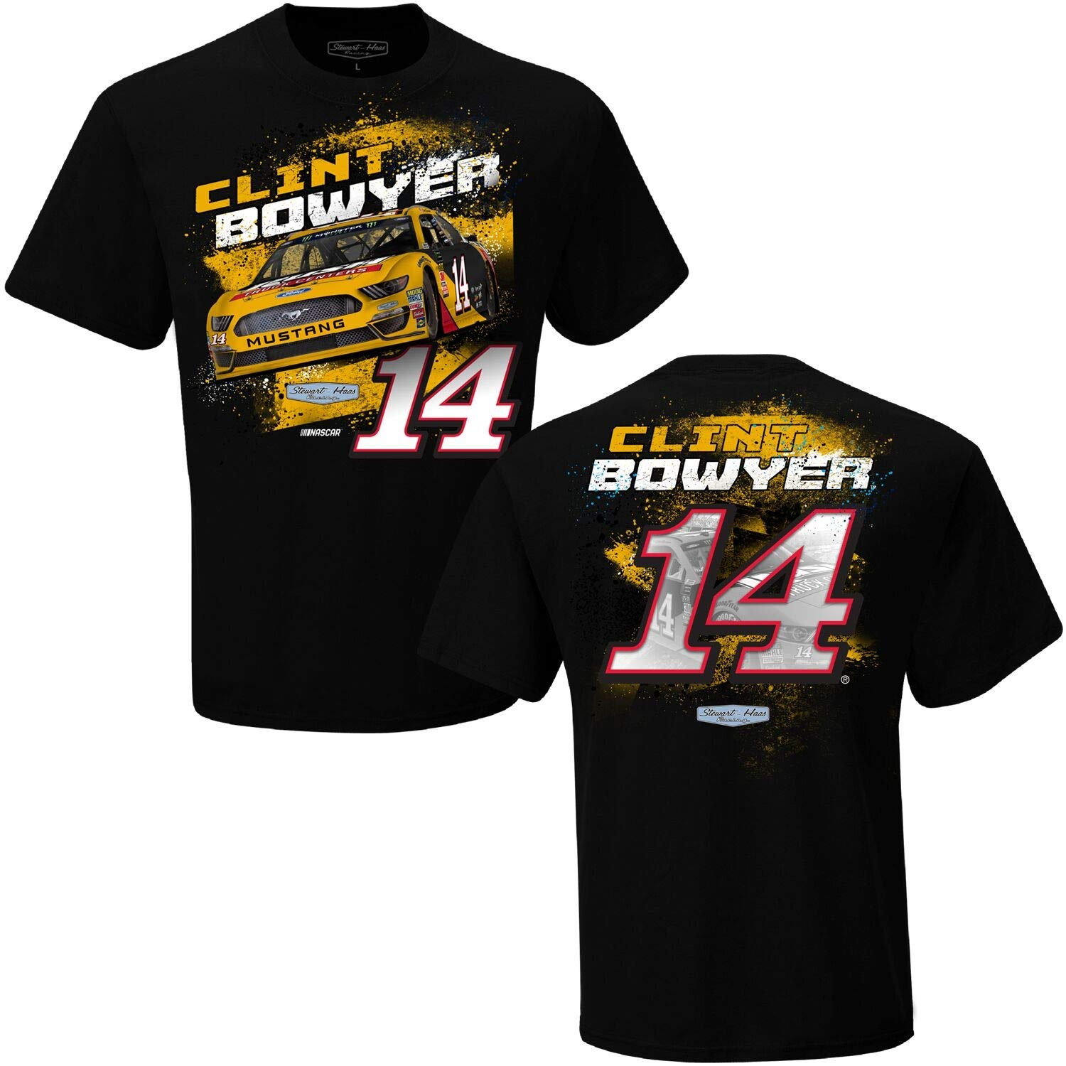 X-Large Checkered Flag NASCAR Chase Elliott Mountain Dew  24 Double Sided T-Shirt