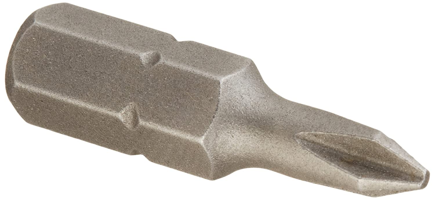 1//4 Hex Shank INS27036P50 Pack of 50 1//4 Hex Shank 1 Length 1 Length Pack of 50 Drill America INS Series Phillips Drive Economy Reduced Insert Bit P2 Size