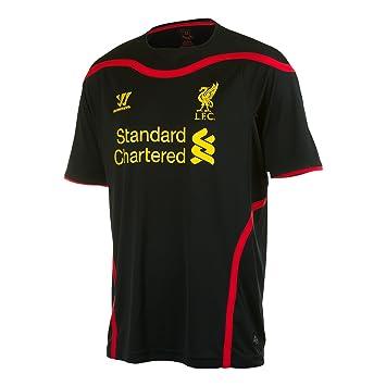 560a5ac88 2014-15 Liverpool Away Warrior Goalkeeper Shirt  Amazon.co.uk ...