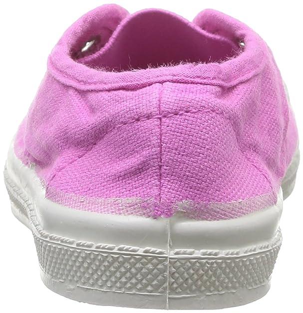 89a3c73d4bacf Bensimon - E15149c155 - Tennis Elly - - Mixte Enfant - Rose (Rose Indien  461) - 35 EU  Amazon.fr  Chaussures et Sacs