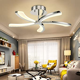 N3 Lighting Moderne Design Led Deckenleuchte Dimmbar Wohnzimmerlampe