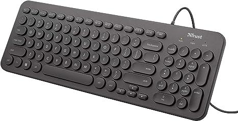 Tastiera computer Trust Muto Silent Keyboard