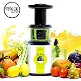 Cecotec C04036 Licuadora para Frutas y Verduras de prensado en frío, Extractor de Jugo,