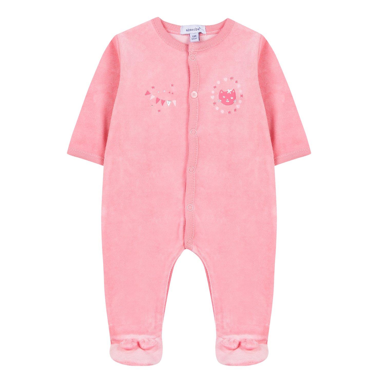 Absorba Boutique Baby-Mädchen Schlafstrampler 9M54001