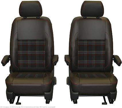 GTI//gris//negro VW Amarok PickUp año 2010-2016 grado fundas asientos delanteros