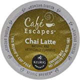 M.BLOCK & SONS 00805 16 Count Chai Latte K-Cup, White