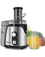 Centrifuga Frutta Verdura Professionale 800W Due Velocità Separatore Polpa Automatico Leva di Sicurezza Acciaio Inox BPA Free di ELEHOT