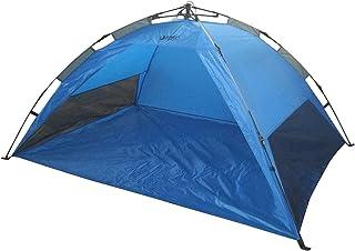 Best Sporting Pro-bau-tec Tente de plage 205x 150x 105cm, Pop Up Tente dans la couleur bleu
