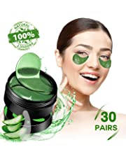SHVYOG Under Eye Mask - 30 Pairs | Aloe Vera Under Eye Gel Pads | Anti-Aging Under Eye Patches | Under Eye Pads with Hyaluronic Acid for Dark Circles, Wrinkles, Puffy Eyes, Fine Lines