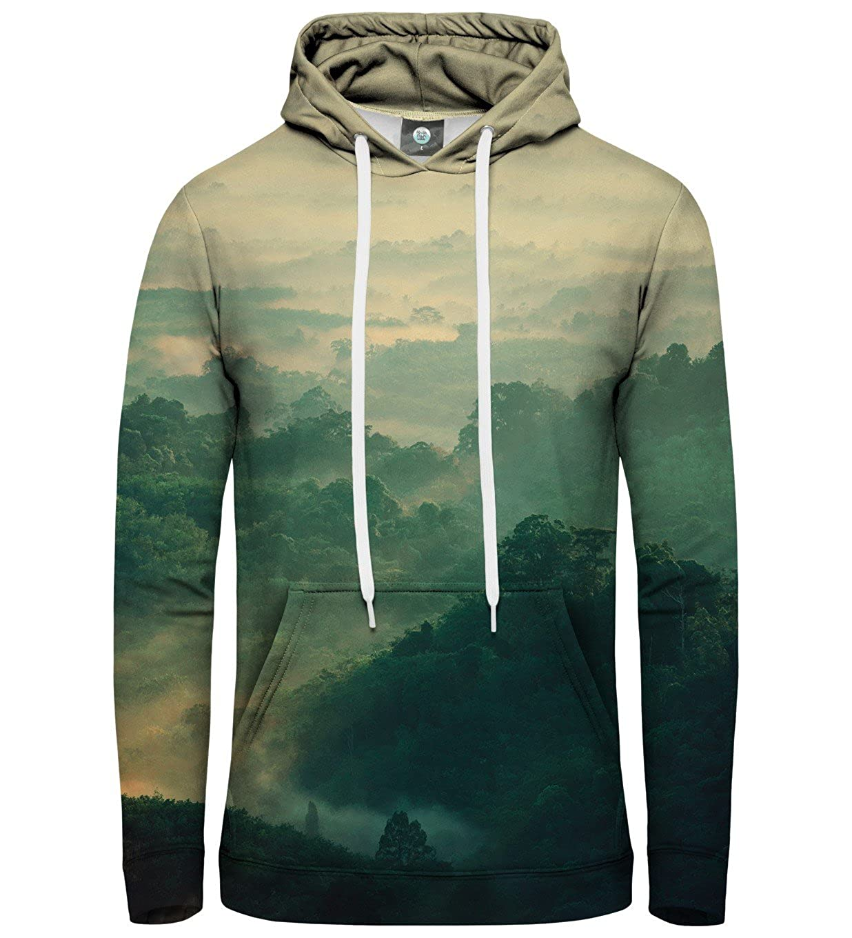 Aloha from Deer Unisex XS-2XL Printed Hoodie Mouthful