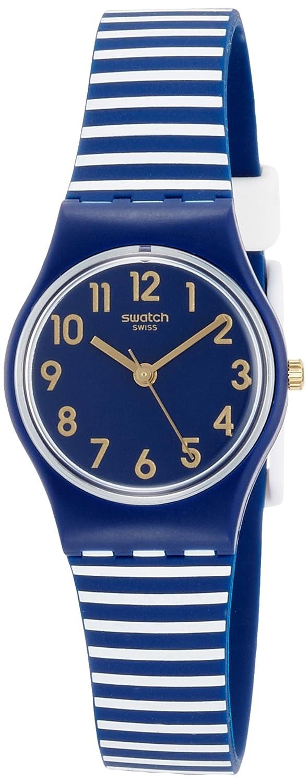 Swatch Reloj Digital de Cuarzo para Mujer con Correa de Silicona - LN153: Amazon.es: Relojes