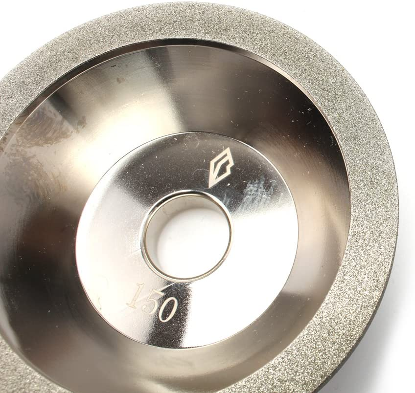 4-inch(100mm)Bowl Shape cup Diamond Grinding Wheel with abor 4//5(100#)