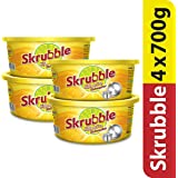 Skrubble High Action Dishwasher with Free Scrub Pad, 700g (Pack of 4)